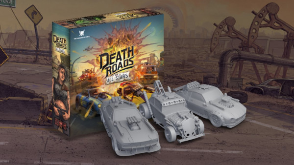 Death Roads: All Stars Bloody Racing Game Coming Soon