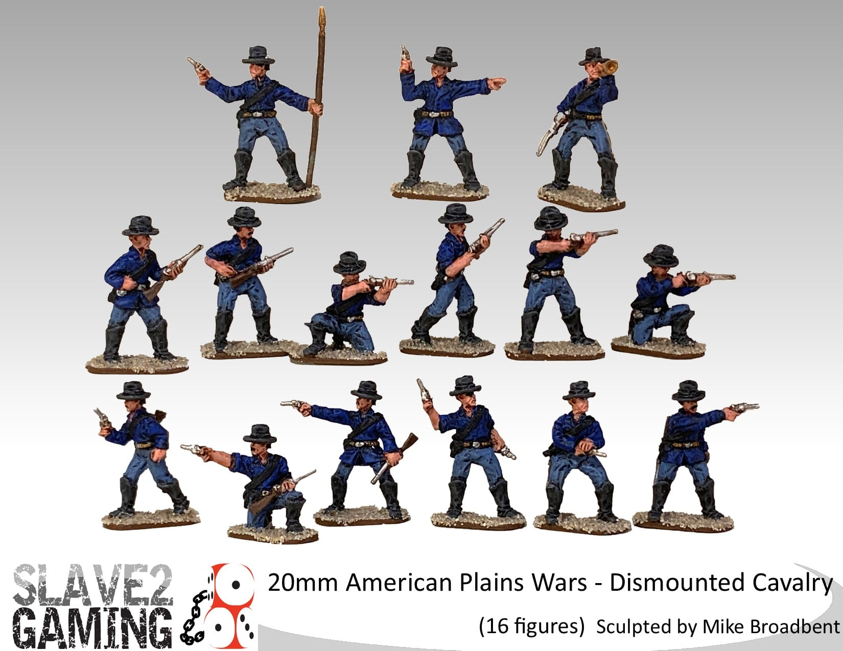 Dismounted US Cavalry - Slave2Gaming