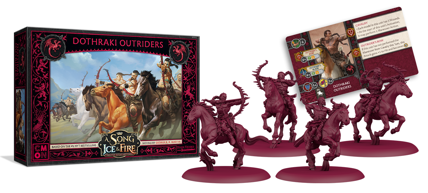 Dothraki Outriders - A Song Of Ice & Fire