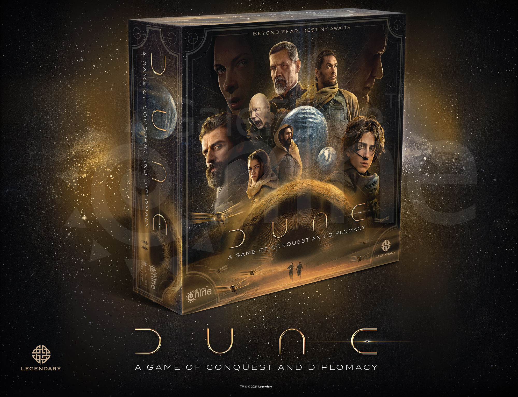 Dune A Game Of Conquest And Diplomacy - Gale Force Nine