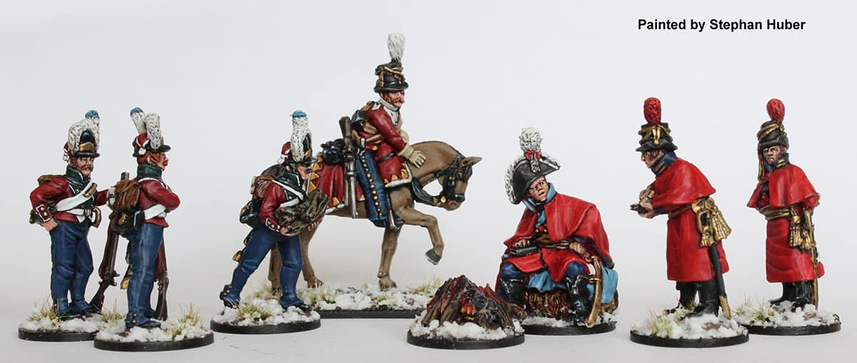 General Prince Christian August & Command - Perry Miniatures