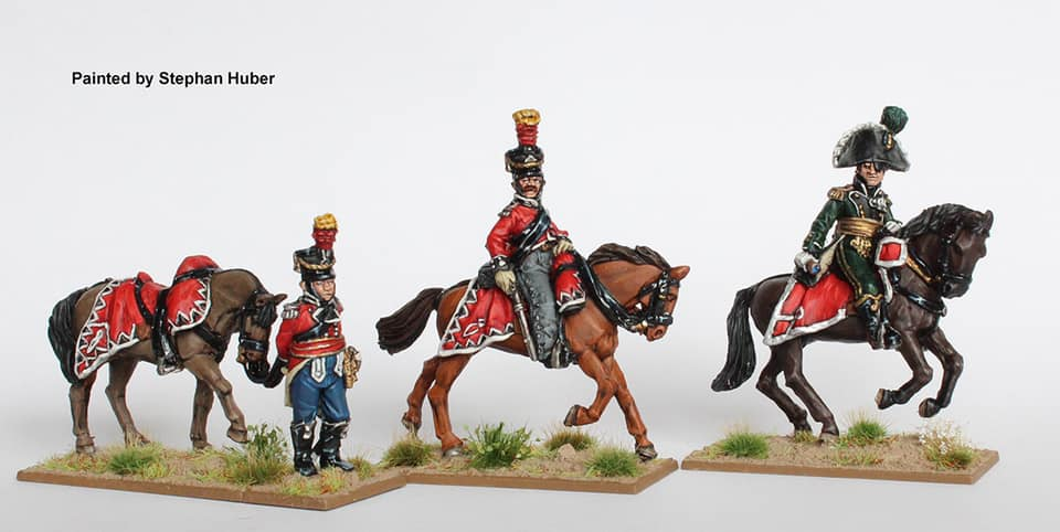 General V Ewald & Guides - Perry Miniatures