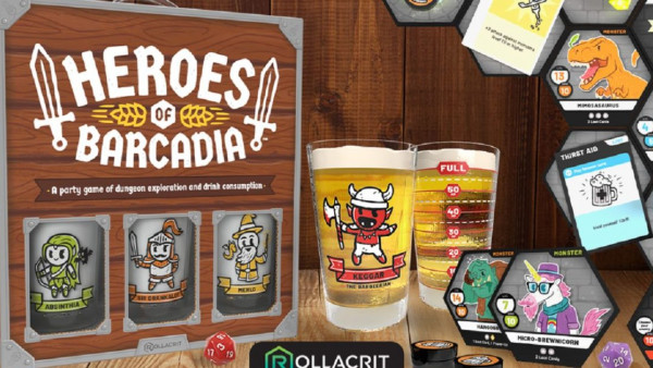 Tabletop Drinking Game Heroes Of Barcadia Now On Kickstarter