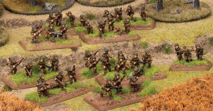 Hungarian Steel Infantry - Flames Of War