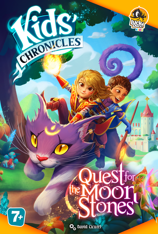 Kids Chronicles Quest For The Moon Stone - Lucky Duck Games