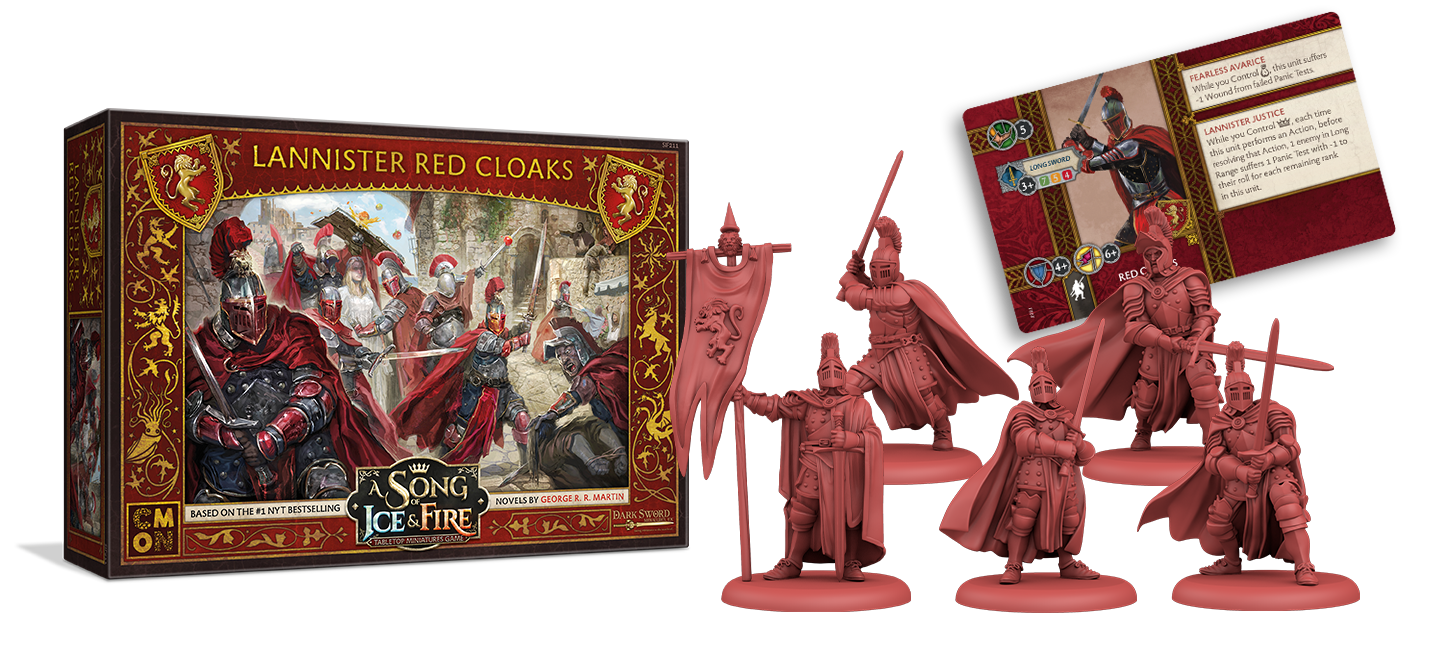 Lannister Red Cloaks - A Song Of Ice & Fire