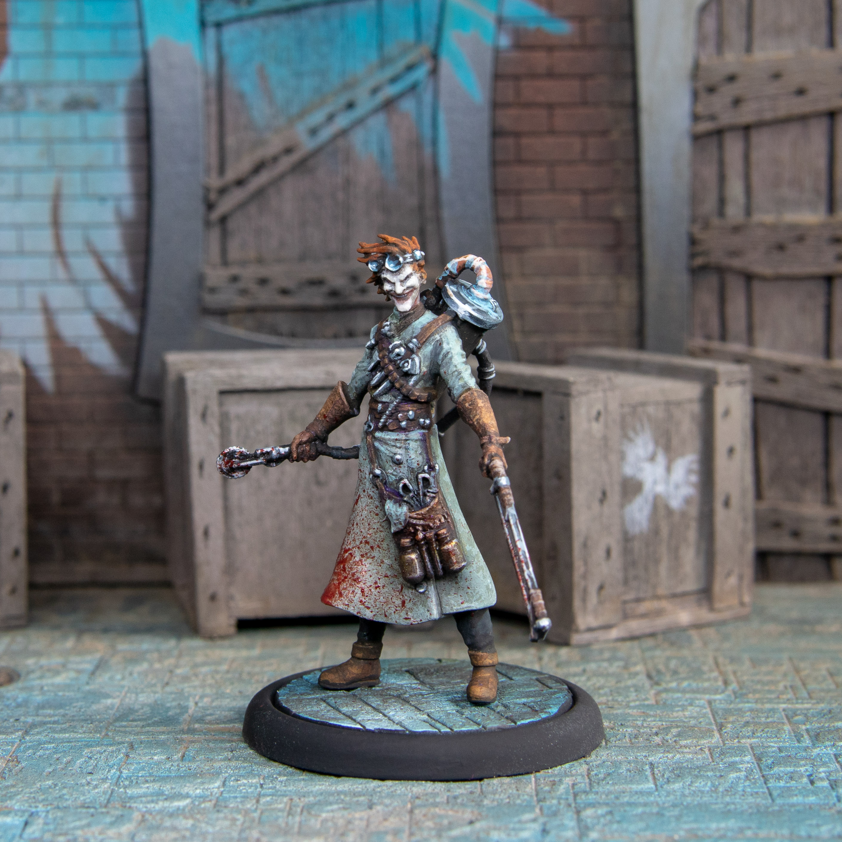Malifaux #1 by soapdodger