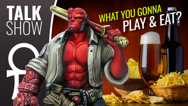 Cult Of Games XLBS: A Return To The Tabletop! What Will You Be Playing…And Eating?!