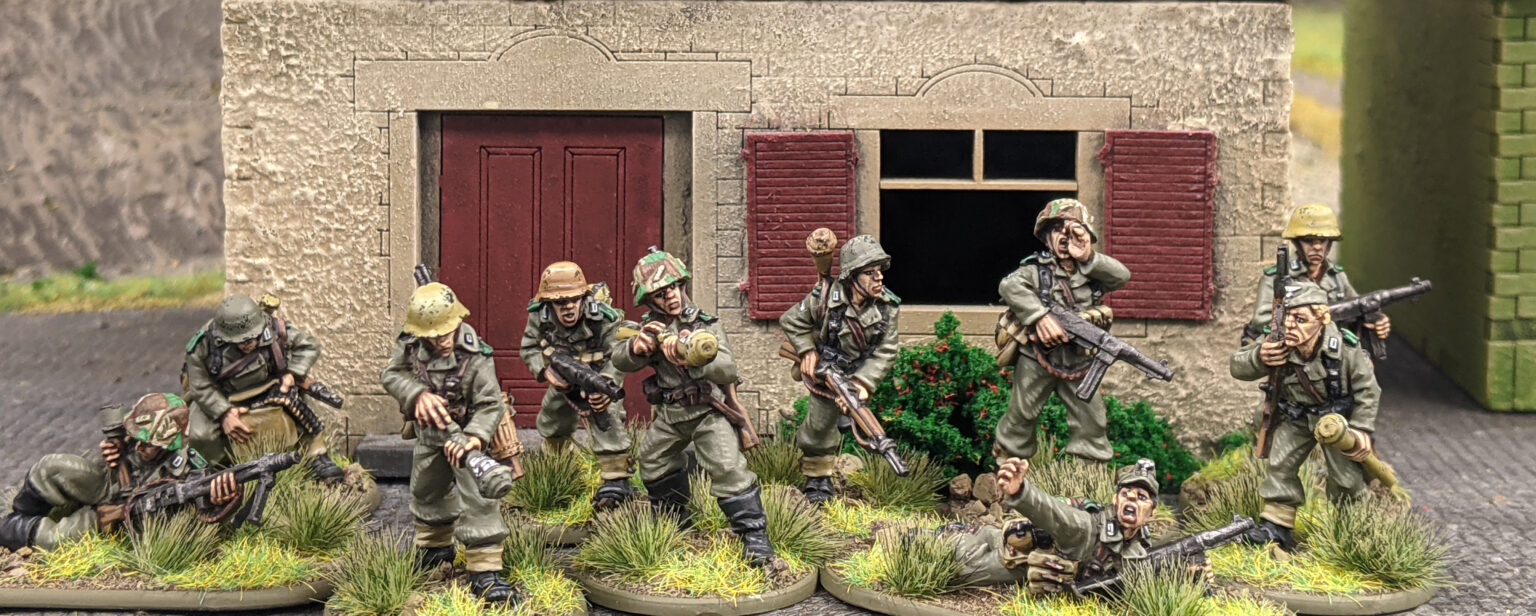 Panzer Lehr Squad - Warlord Games