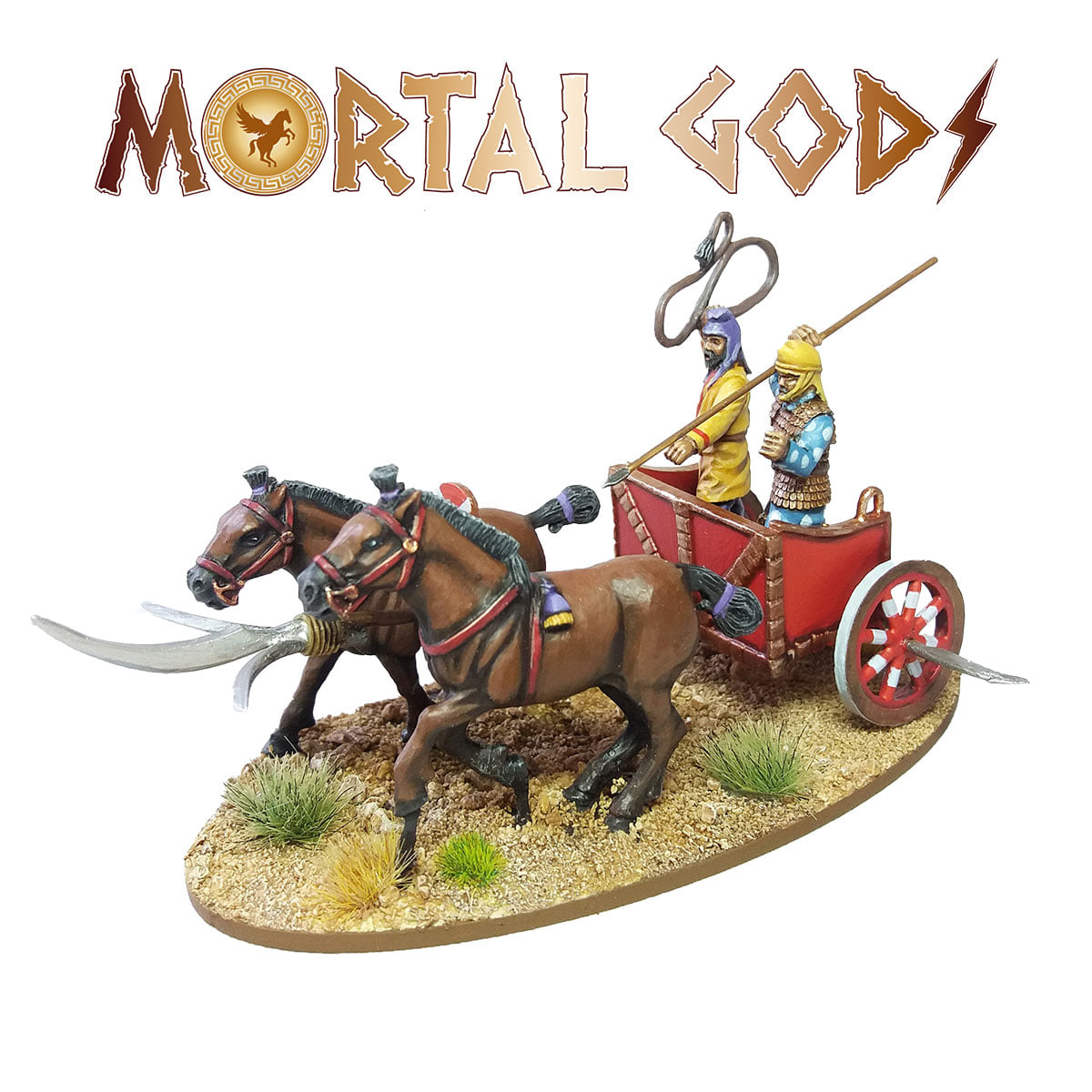 Persian Scythed Chariot #1 - Mortal Gods
