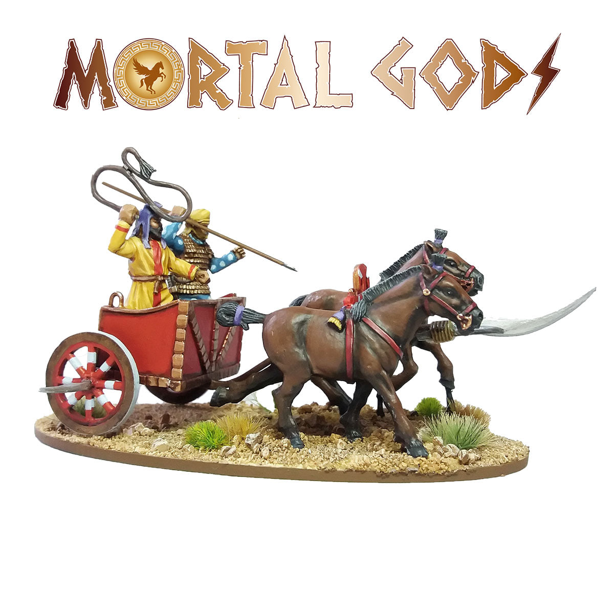 Persian Scythed Chariot #2 - Mortal Gods