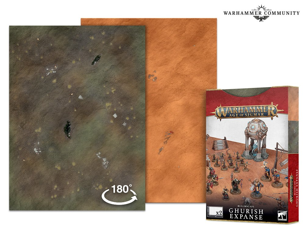 Realmscape Ghurish Expanse - Age Of Sigmar