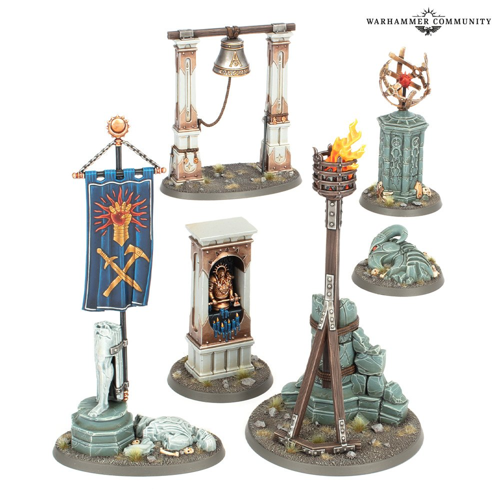 Realmscape Objective Set - Age Of Sigmar