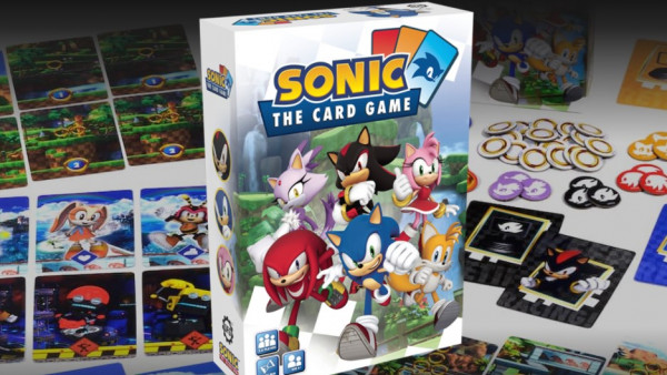 First Look at Sonic: The Card Game from Steamforged Games