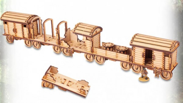 All Aboard the Red Star Railway – TTCombat's Newest Terrain Sets