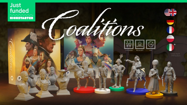 Conquer The Napoleonic World In PHALANX's Coalitions