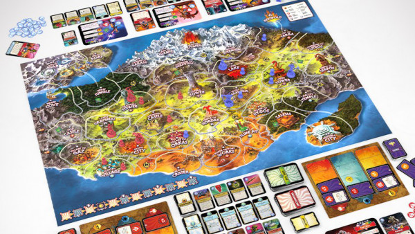 Archon's Masters Of The Universe Board Game Lined Up For July