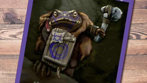 Oathsworn Journal Issue #3 Pops Up For Burrows & Badgers Fans