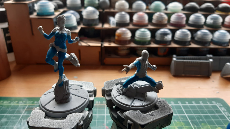 Using contrasts for these talassar blue on both