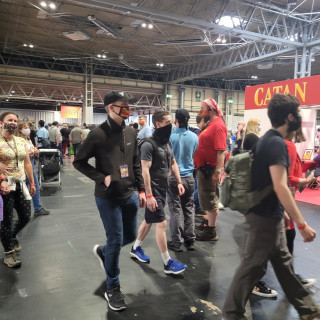 #UKGE2021 - Day Two: The Doors Are Open!