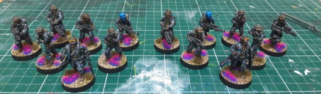 Troops done
