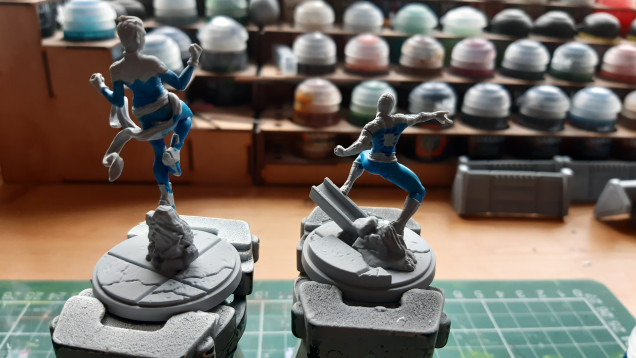first day of summer hols first colour on models