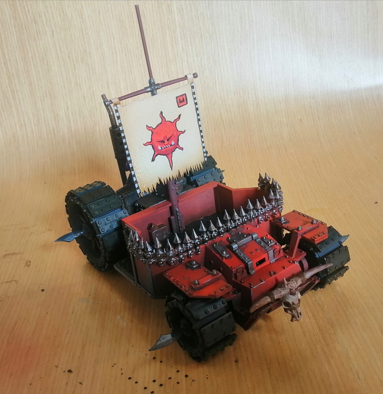 First go at a freehand banner, quite happy with it.