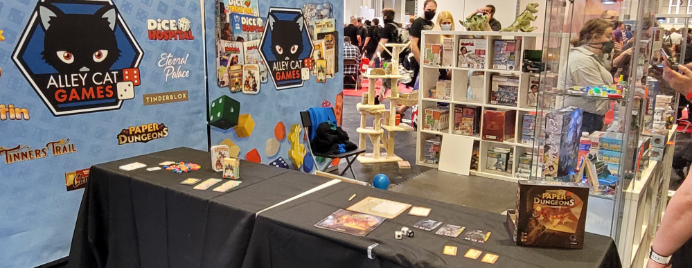 Stop Over at Associate Sponsor Alley Cat Games: Some Demos, Prototypes and Shiny New Releases!