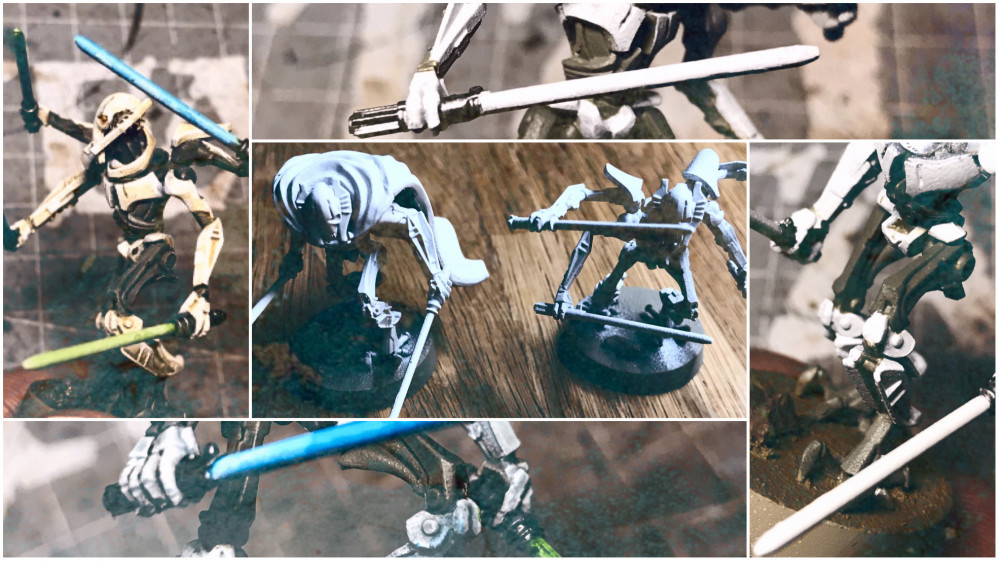 Quick and Simple General Grievous