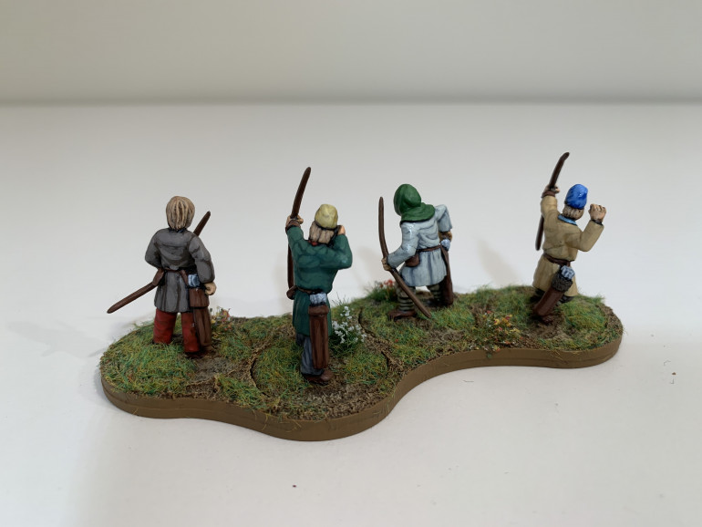 Lloyd shot. I was sent the late Saxon archers in error and I think you can tell. They look more early medieval rather than late Antiquity. I may swap them out for the real deal at some point.