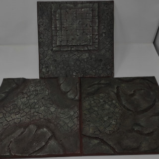 Dungeon terrain set for the 'Into the Dark' rules expansion