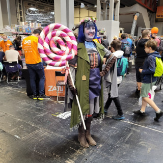 It Woudn't Be An UKGE Without Cosplayers!