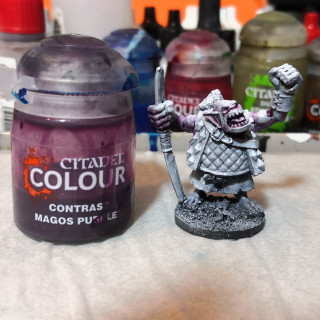 Painting the Orc Skin