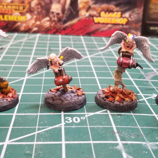 Finished the freaky cherubs!