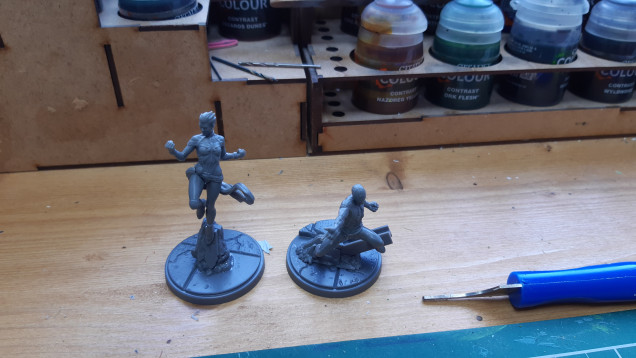 Making a start on the first to models. They are a bit more fiddly then the stormcast!