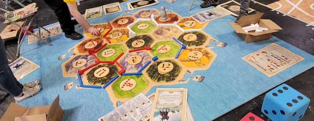 Off the Board and On the Floor with Herefordshire Board Gamers!