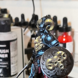 Painting the Gold Areas