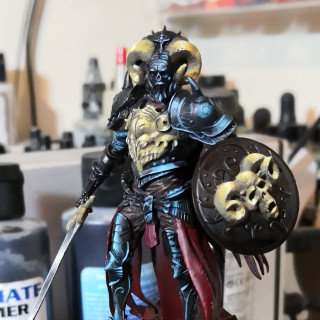 Painting the Black Armour