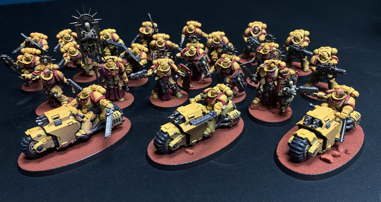 Andy's painted up Indomitus marines