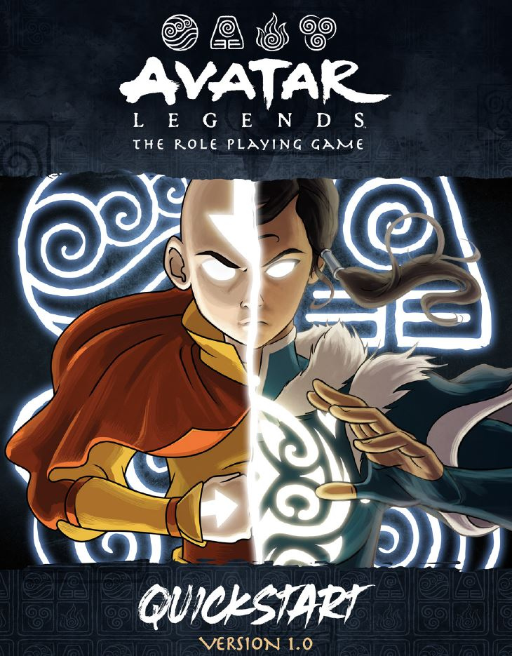 Avatar Legends The Roleplaying Game - Magpie Games