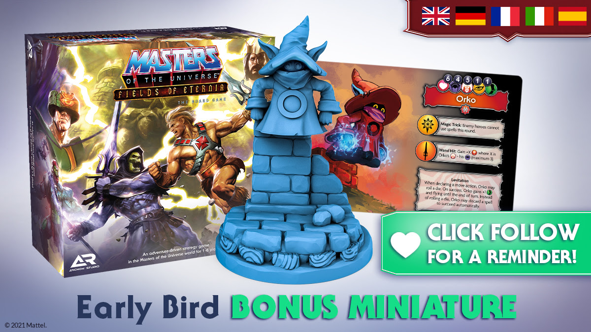 Early Bird Offer - Masters Of The Universe