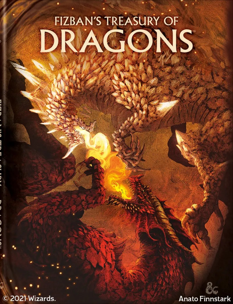 Fizbans Treasury Of Dragons Alt Cover - Dungeons & Dragons