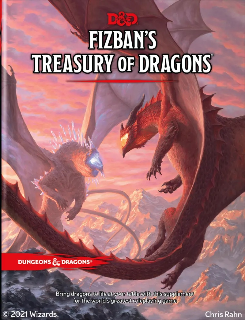 Fizbans Treasury Of Dragons - Dungeons & Dragons
