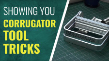 Gerry Can Show You How To Use The Green Stuff World Corrugator