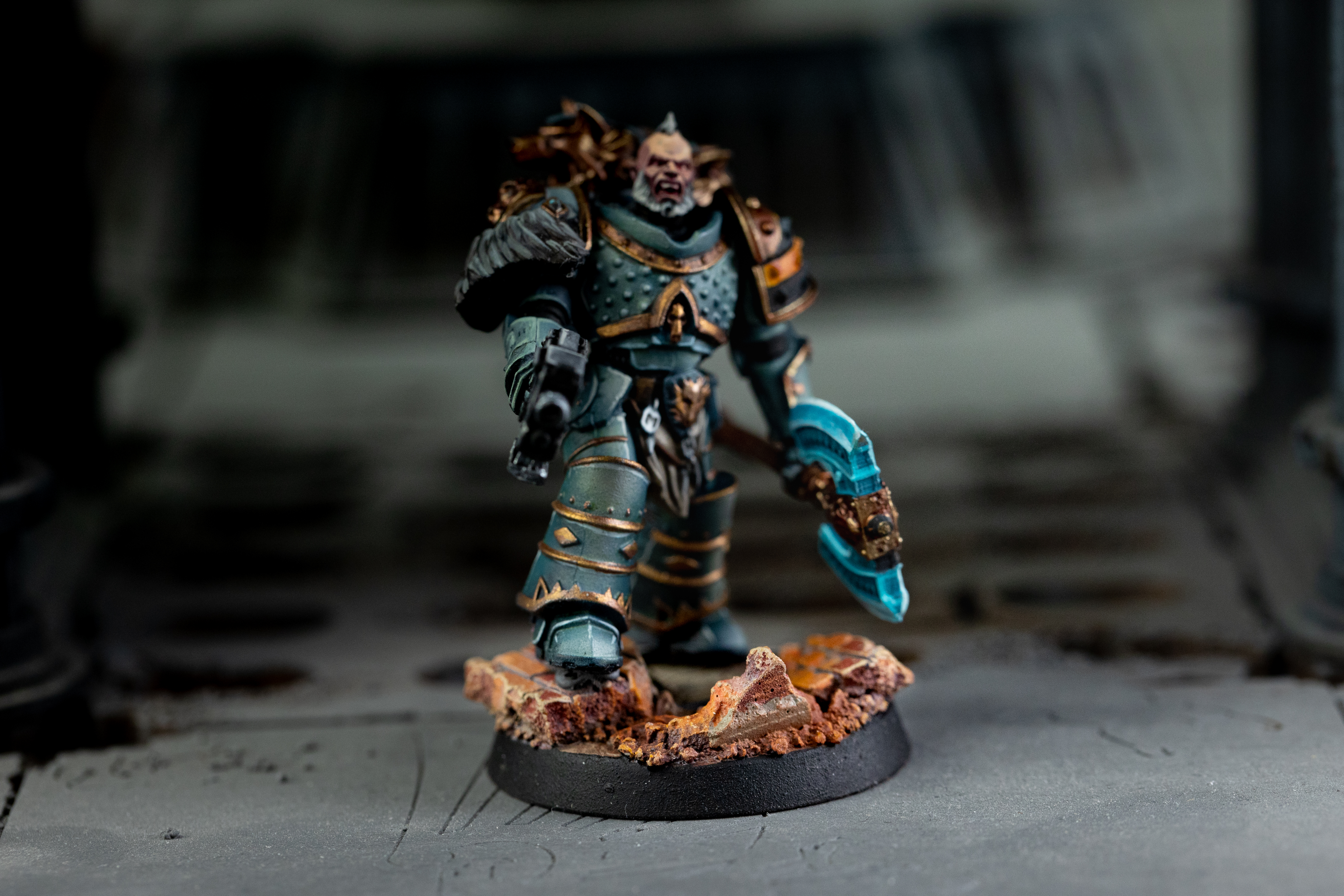Old Town Ruins Bases Example #1 - Kromlech
