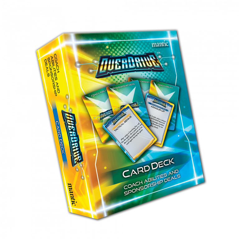 OverDrive Card Deck - Mantic Games