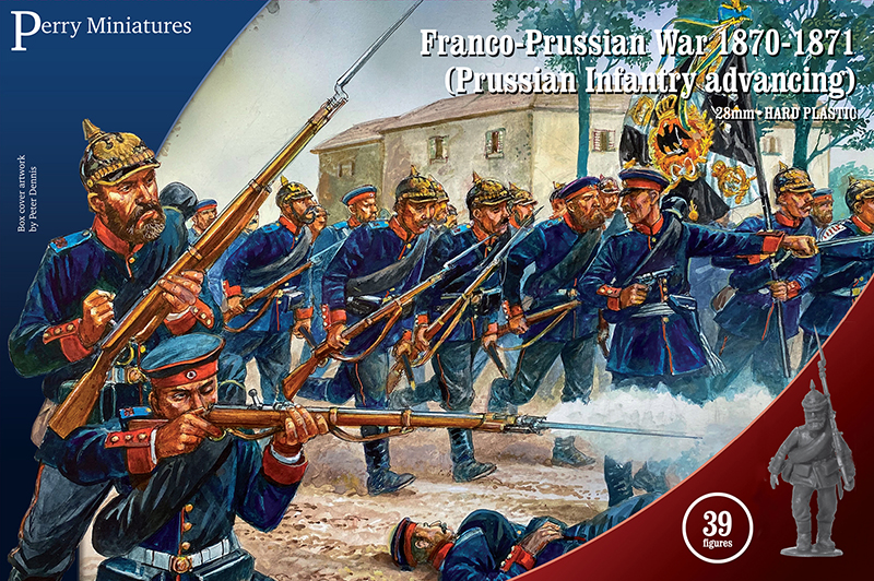 Prussian Infantry Advancing - Perry Miniatures