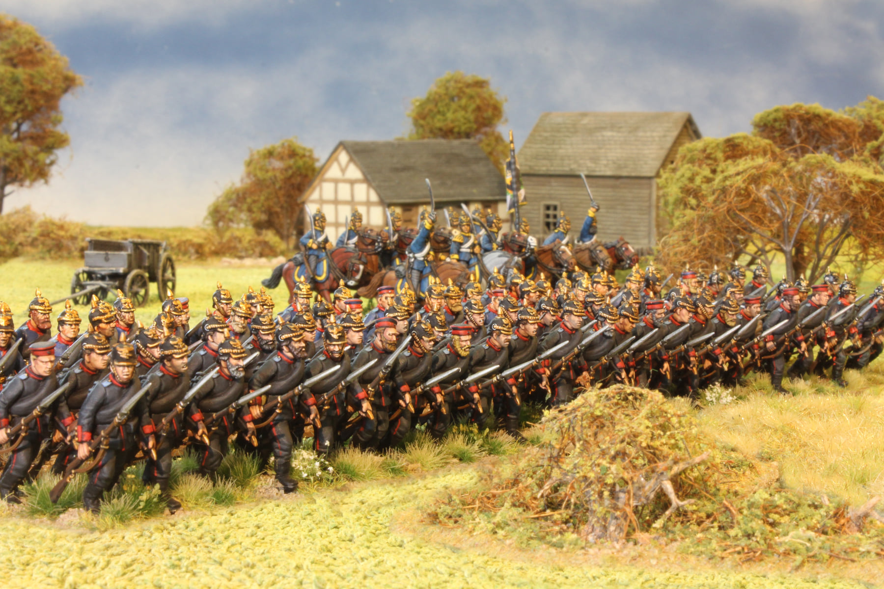 Prussian Infantry In Battle - Perry Miniatures