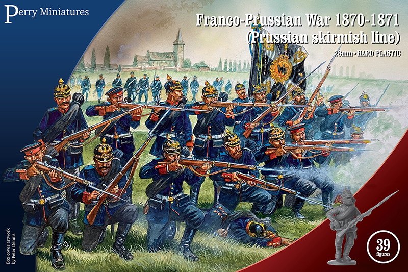 Prussian Skirmish Line - Perry Miniatures