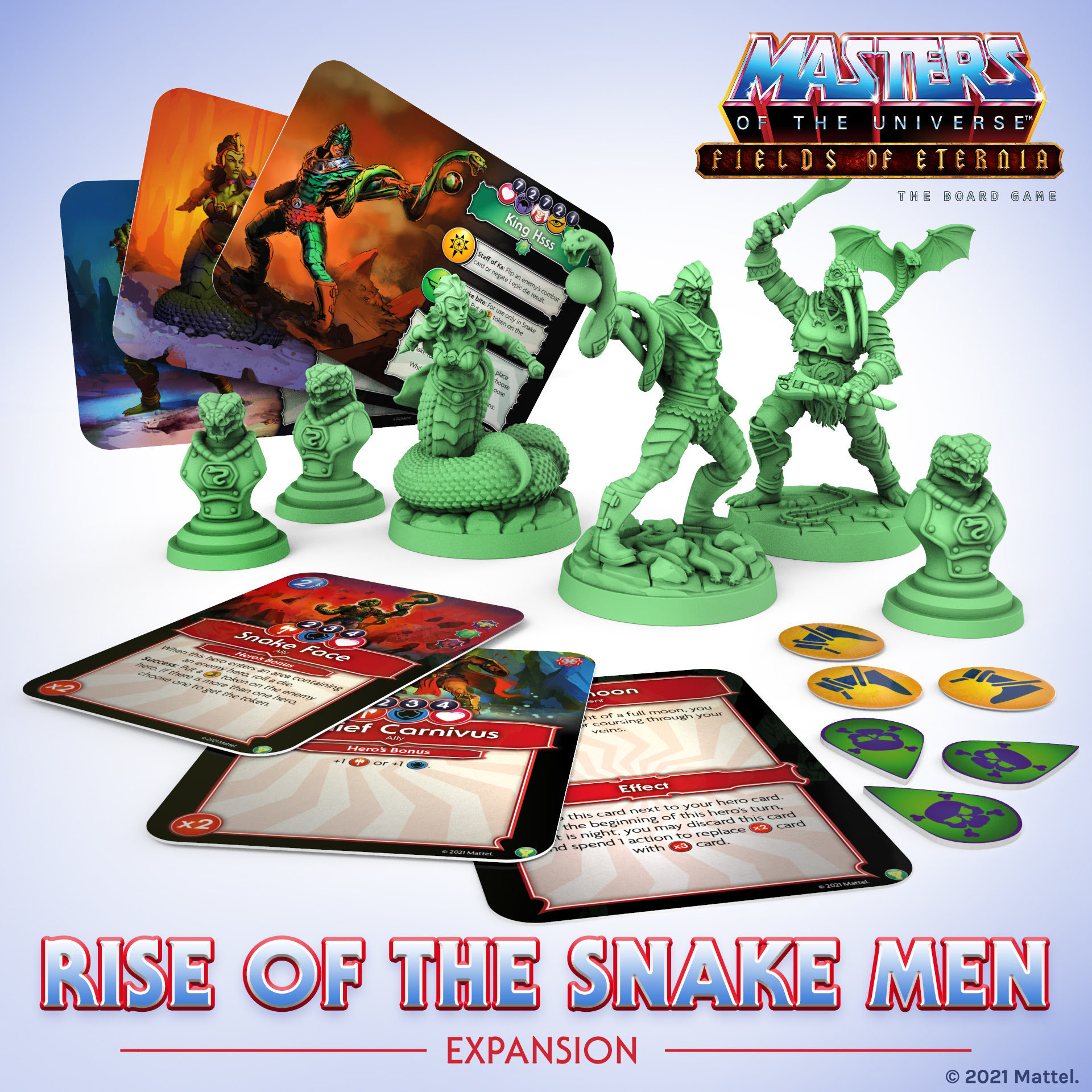 Rise Of The Snake Men - Masters Of The Universe